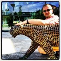 Vendelínův nový Jaguár...:-)