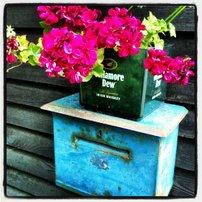 Velmi nezvyklá poštovní schránka u chaty Na Návrší..:-)