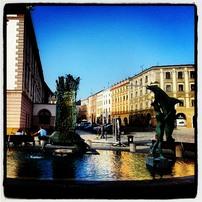 Horní náměstí v Olomouci. Klasika:-)