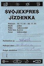 Svojanov měl poosmé svůj jízdní řád:-)