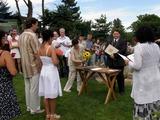 Svatební obřad Lukáše Bláhy a (ještě chvíli) Moniky Loskotové:-)