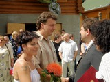 Svatba Moniky a Lukáše Bláhových v Třemblatu.