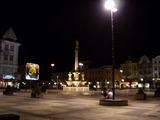 Ostrava v noci.