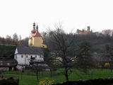 Hrad Svojanov nad Svojtownem.
