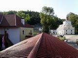 Penzion Pod hradem v Nových Hradech.