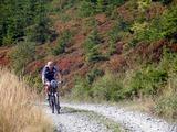 ... a za chvíli se objevil známý cyklista - Geboš...