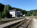 Tady pro mne vše začalo - nádraží v Ledečku.