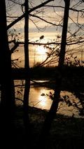 Podzimní Poodří kdesi mezi Ostravou a Jistebníkem v pátek třináctého.