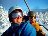 Michal a Charlie na Medvědíně