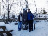 112 a medvěd s Medvědem v Zillertalu.