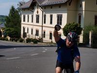 Vítězný Pan Roman na Hukvaldech:-)