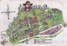 Mapa areálu na Bojišti.