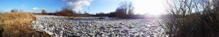 Zátoka řeky Odry.