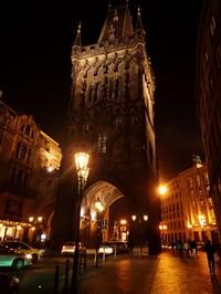 Prašná brána ve své večerní kráse:-)