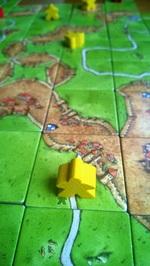 Carcassonne. Naše oblíbená hra:-)