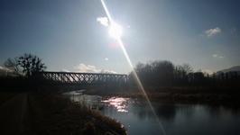 Prženský most je železniční most...:-)
