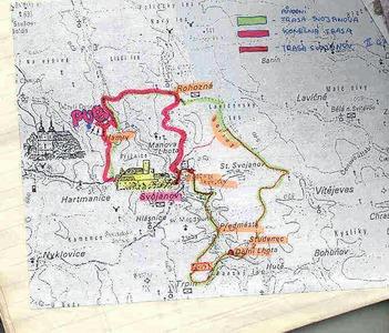 Mapa okruhu, kudy jsme se protáhli...